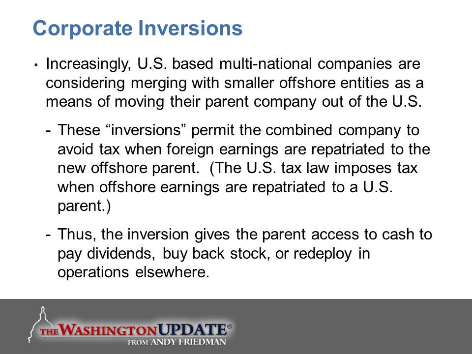 Corporate Inversions