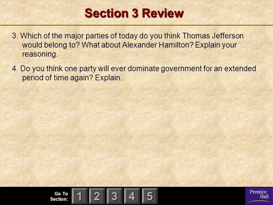 Section 3 Review