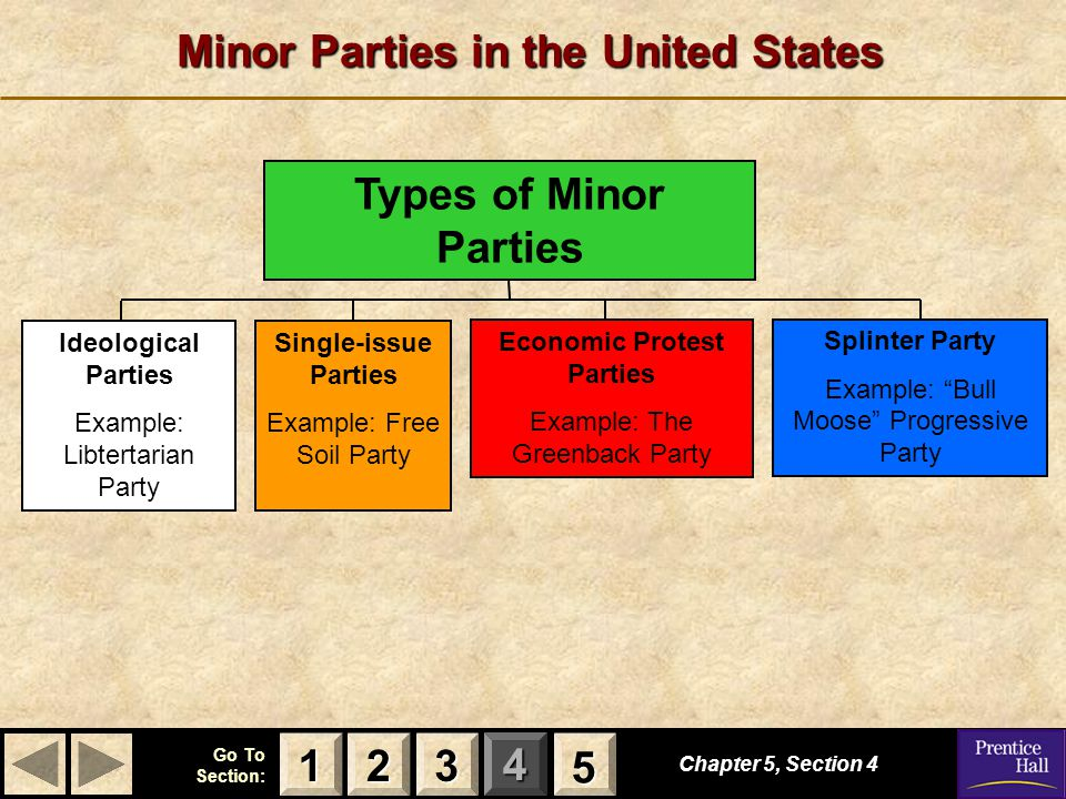 Minor Parties in the United States