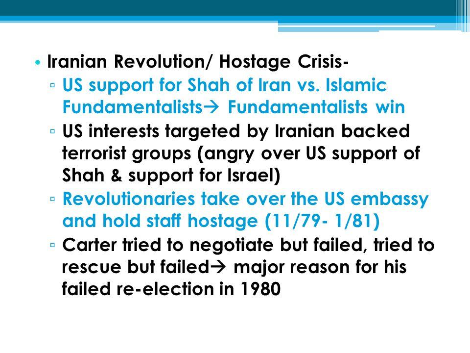 Iranian Revolution/ Hostage Crisis-