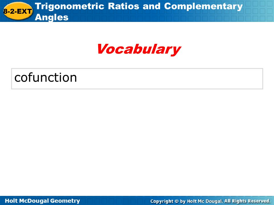 Vocabulary cofunction