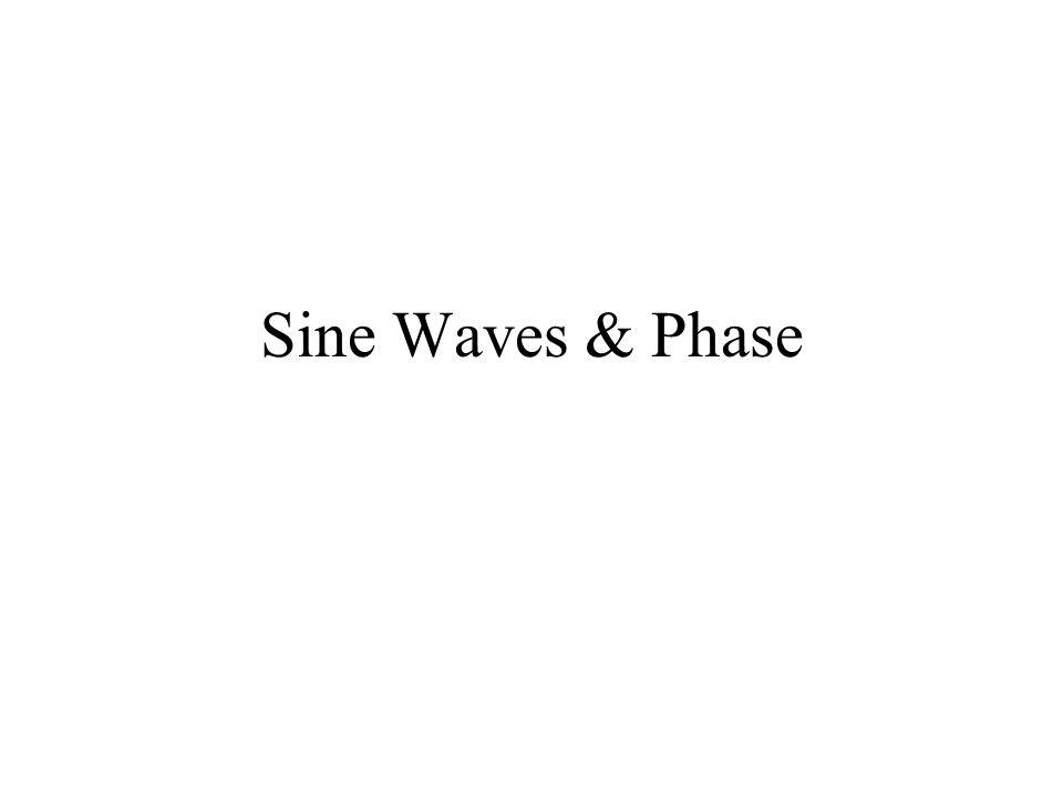 Sine Waves & Phase