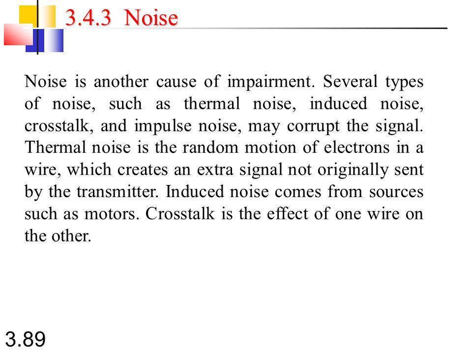 3.4.3 Noise