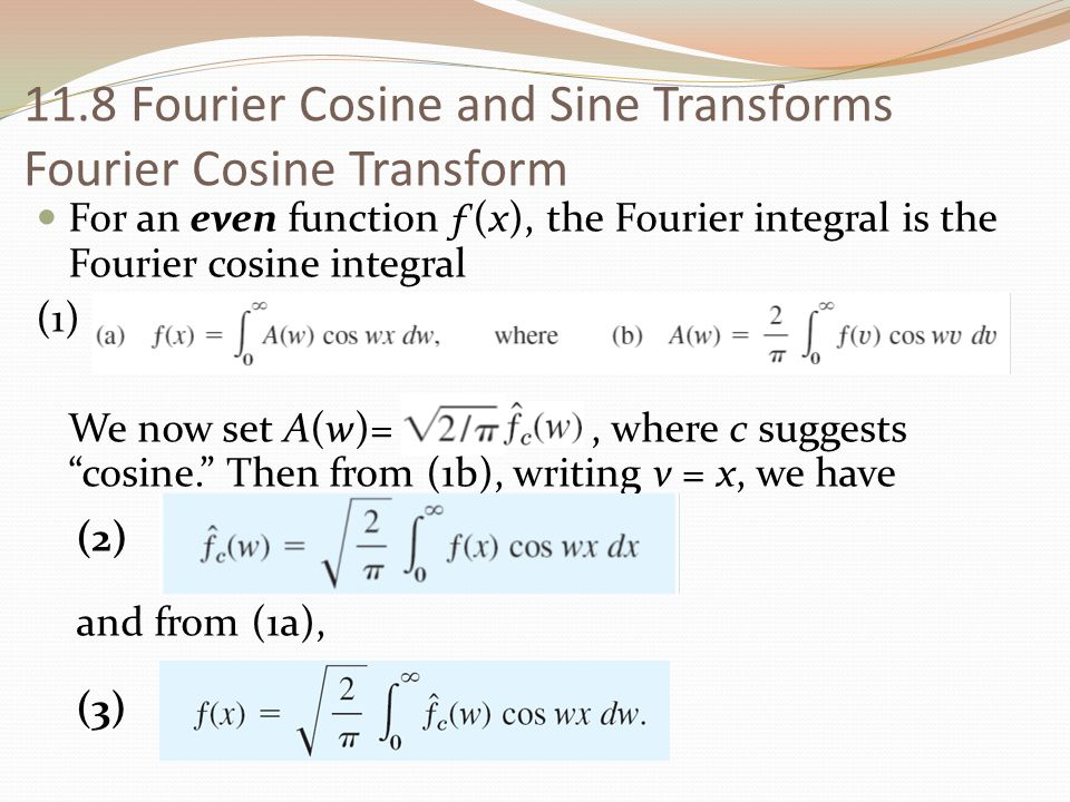 how to find the intergral of fourier series