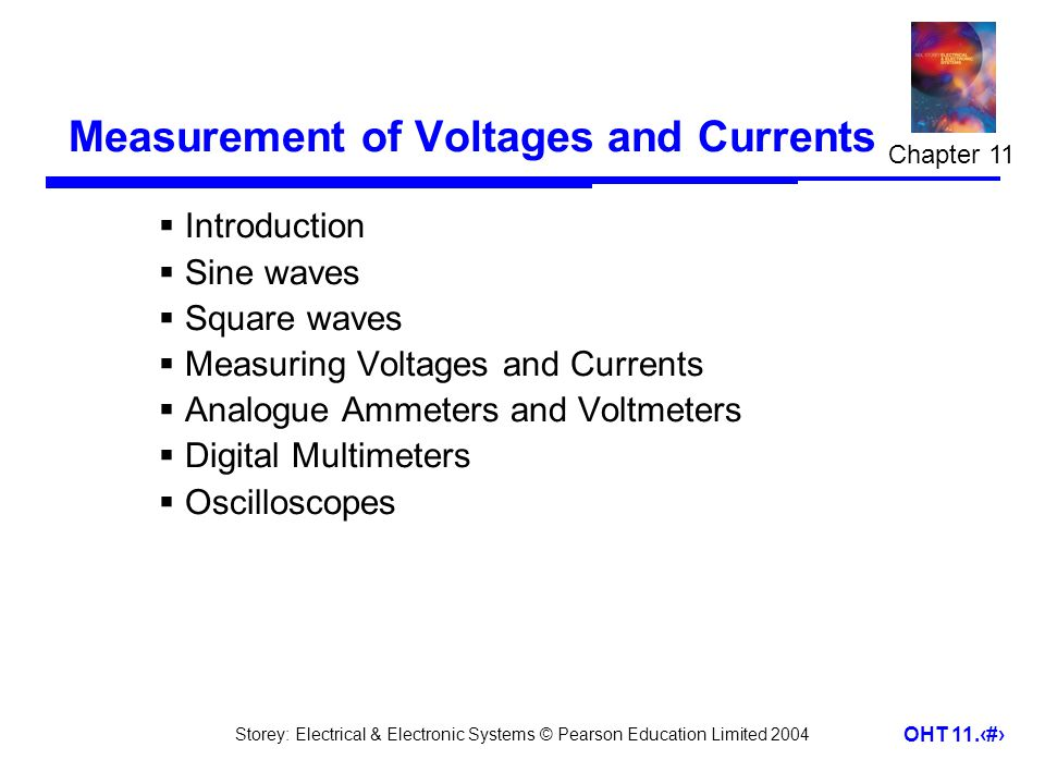 Measurement of Voltages and Currents