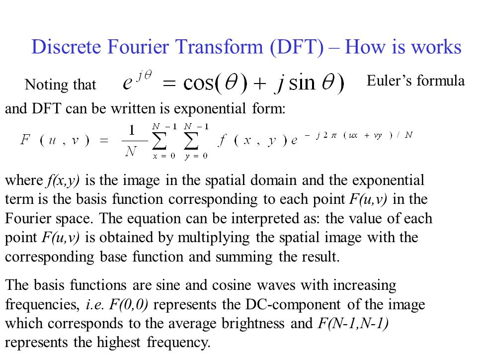 Discrete Fourier Transform (DFT) – How is works