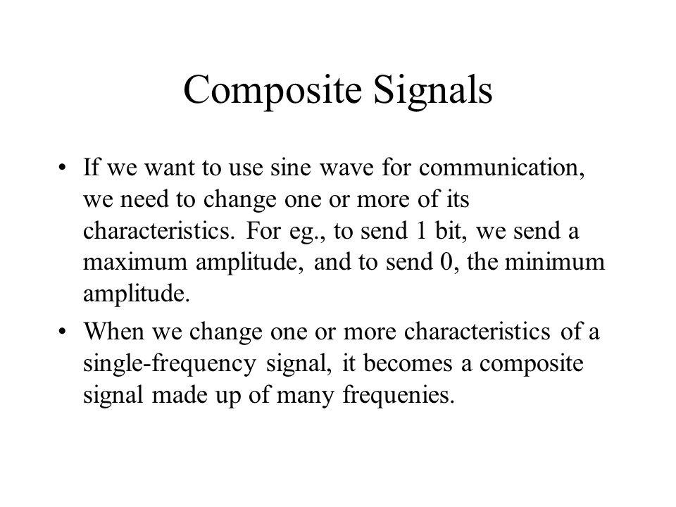 Composite Signals