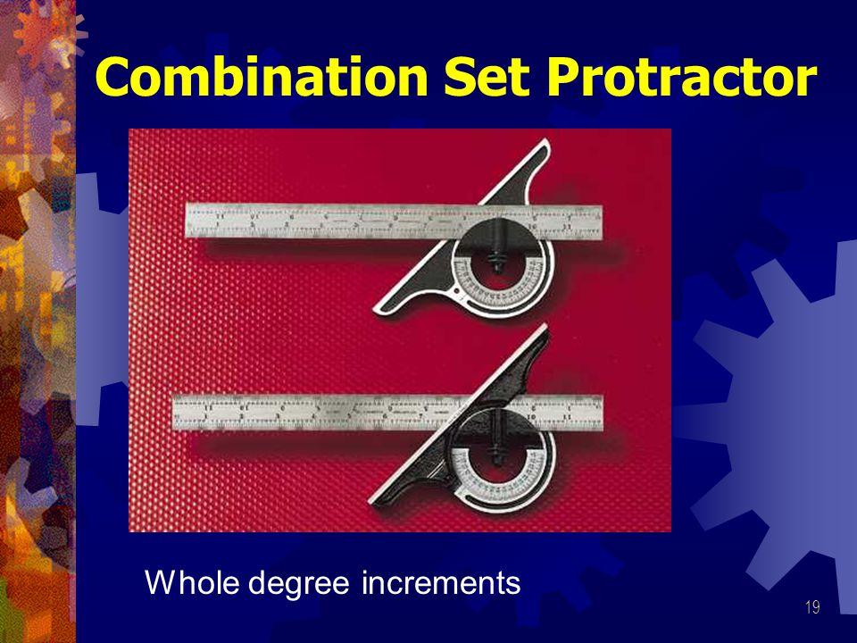 Combination Set Protractor