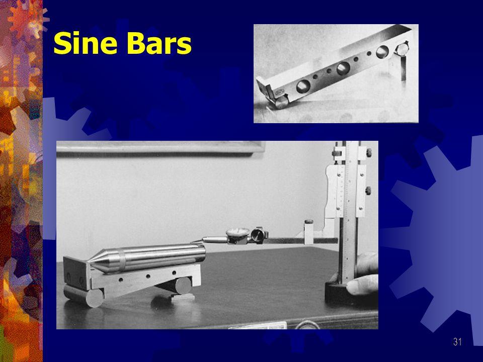 Sine Bars