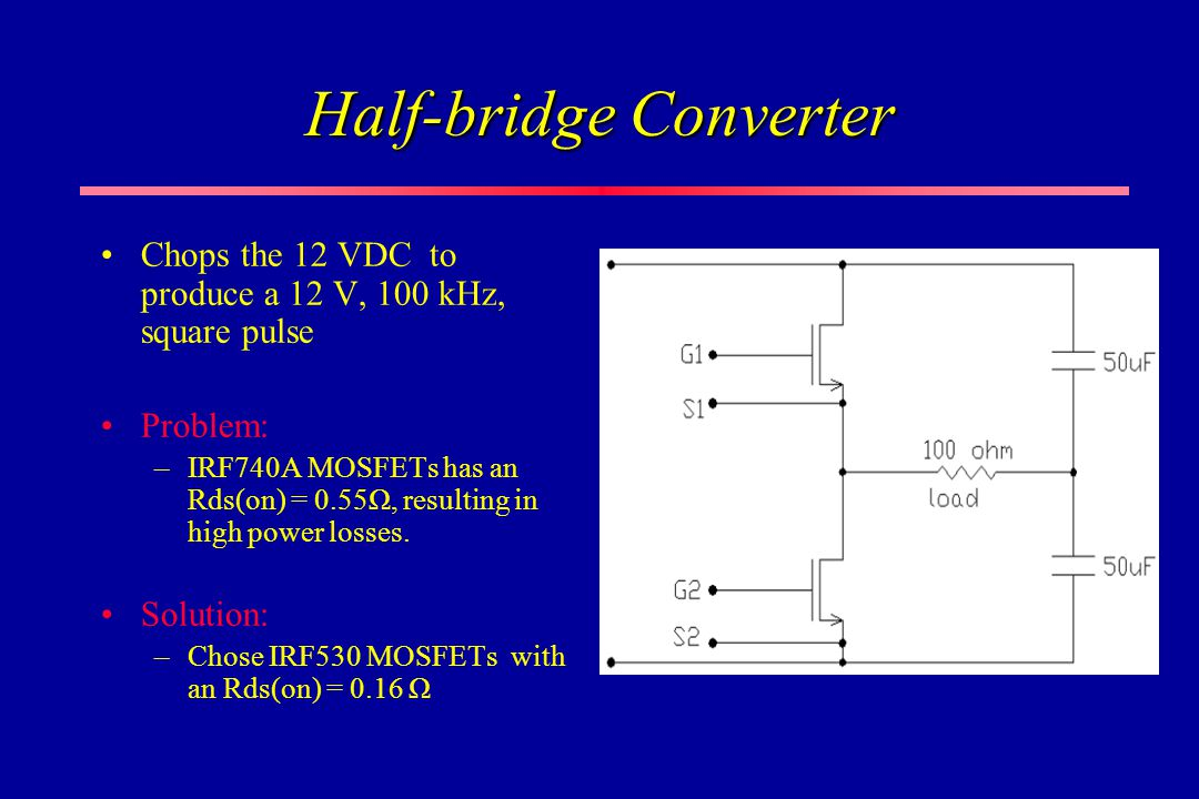 Half-bridge Converter