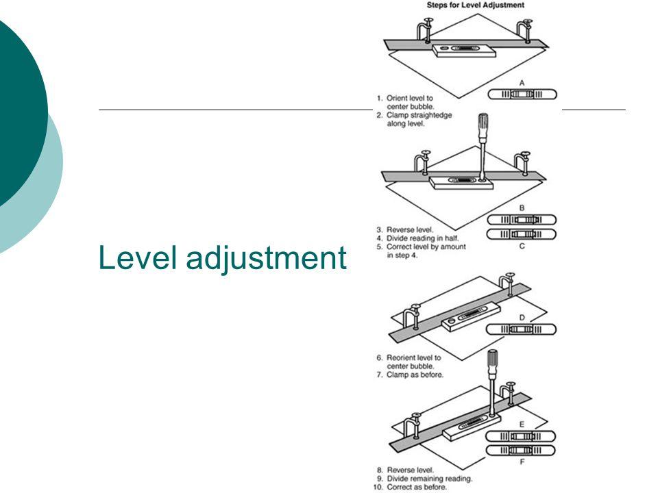 Level adjustment