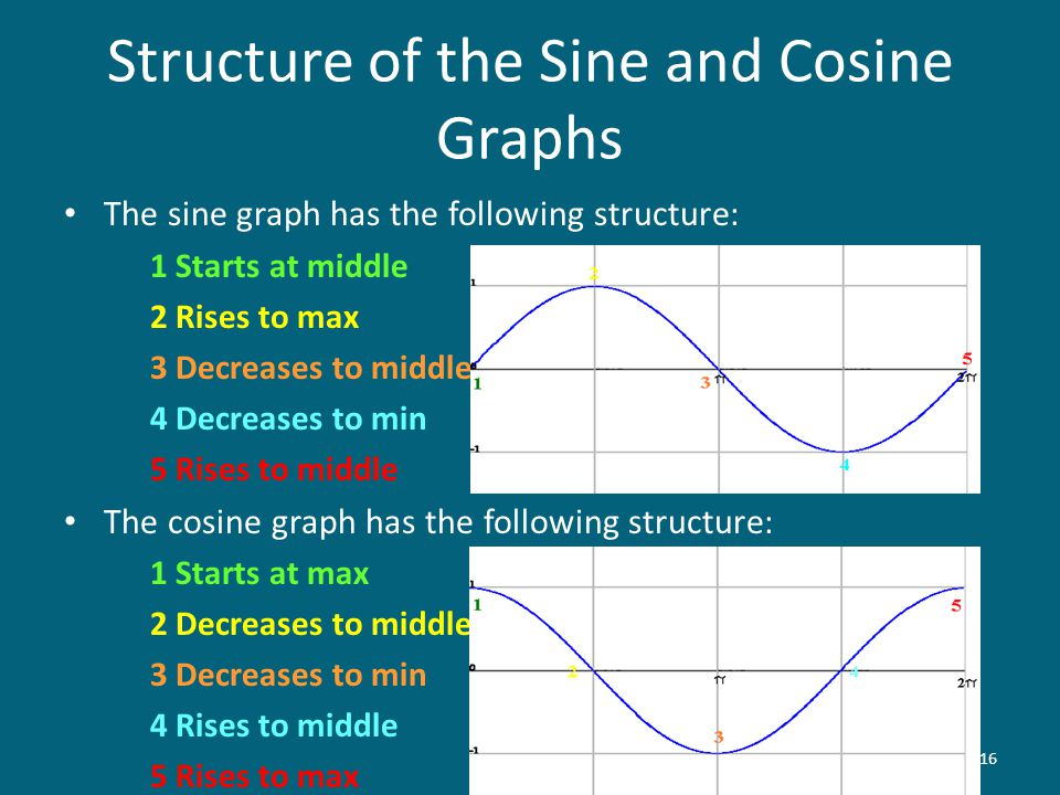 Structure of the Sine and Cosine Graphs
