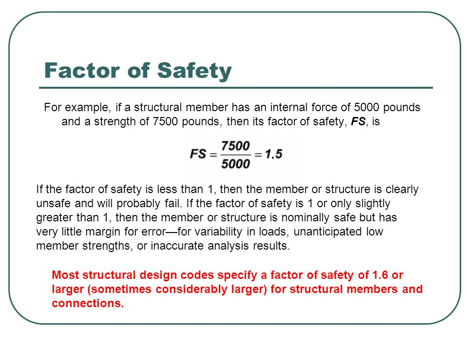 safety factors of prefabricated structures British precast keeps a keen eye on national and international standards - this   provision for reduced partial safety factors for precast, in acknowledgement of the   eurocodes are applicable to whole structures and to individual elements of.