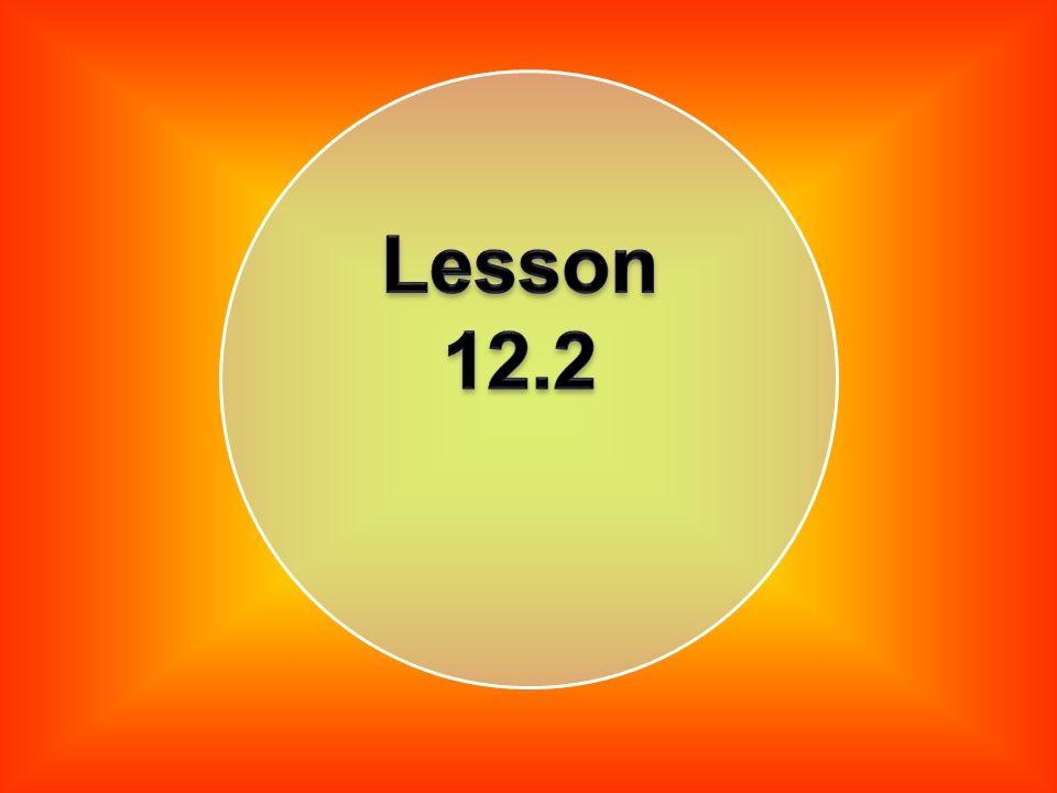 Lesson 12.2