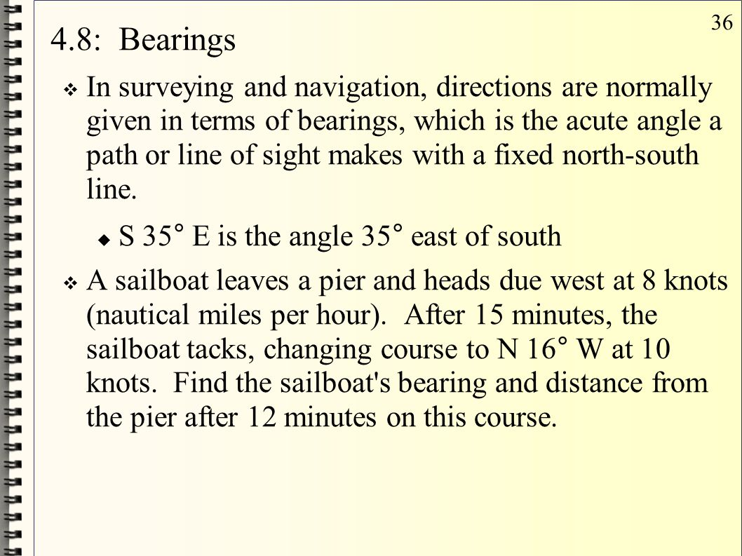 4.8: Bearings