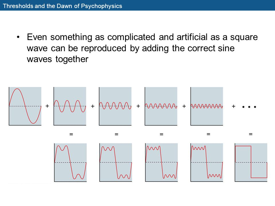 Thresholds and the Dawn of Psychophysics