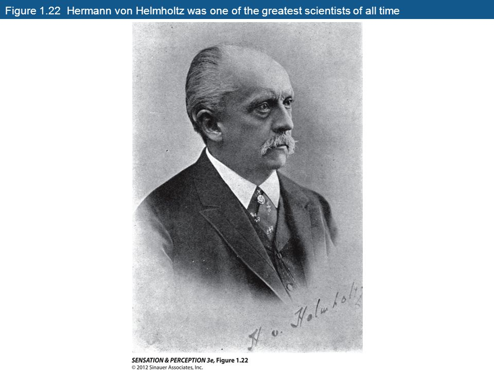 Figure 1.22 Hermann von Helmholtz was one of the greatest scientists of all time