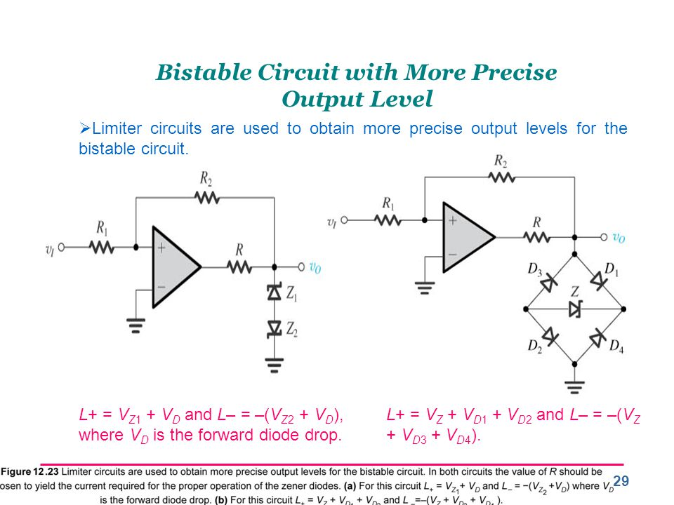 Bistable Circuit with More Precise Output Level