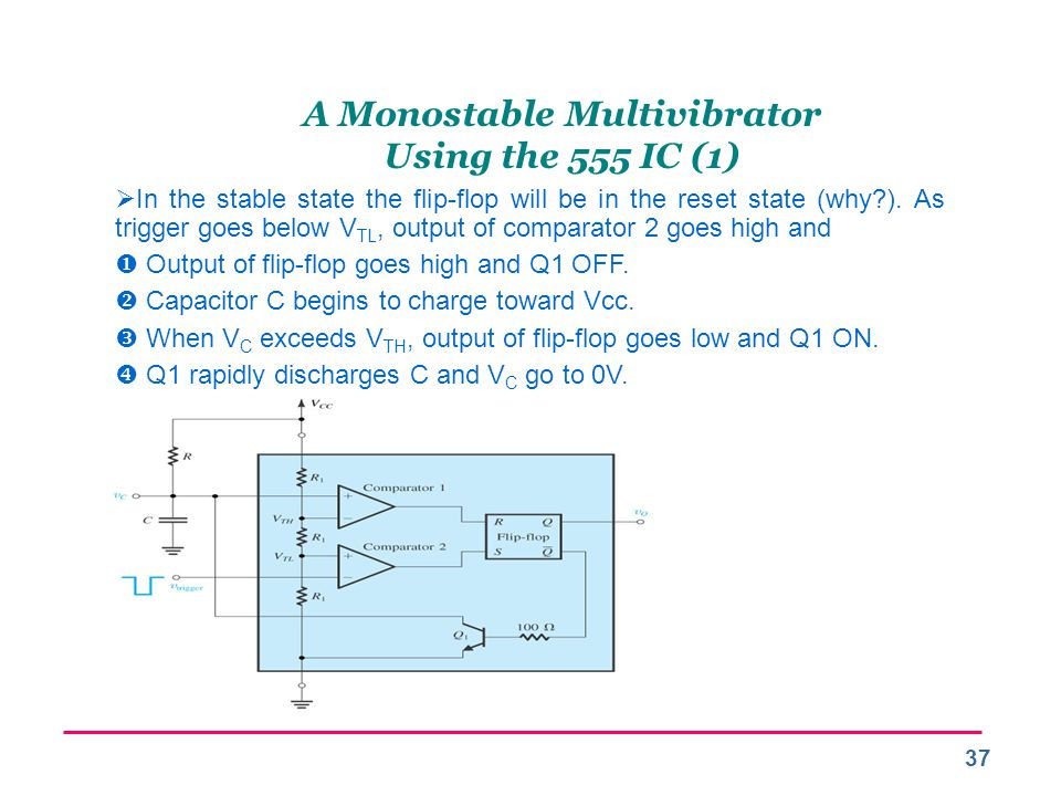 A Monostable Multivibrator Using the 555 IC (1)