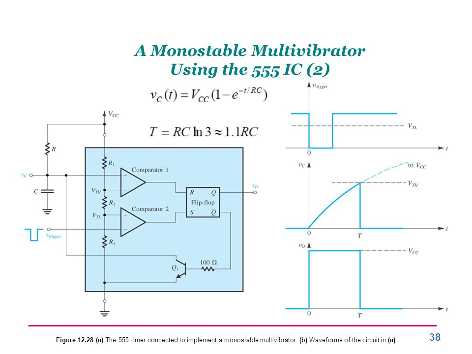 A Monostable Multivibrator Using the 555 IC (2)