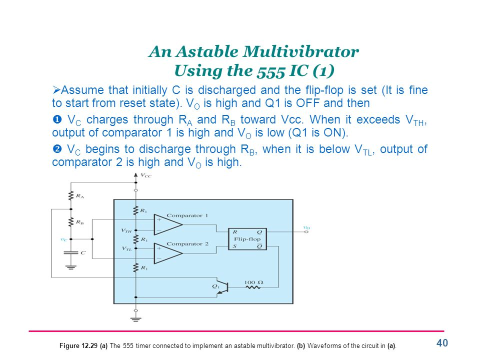 An Astable Multivibrator Using the 555 IC (1)