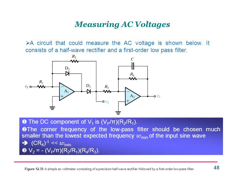 Measuring AC Voltages