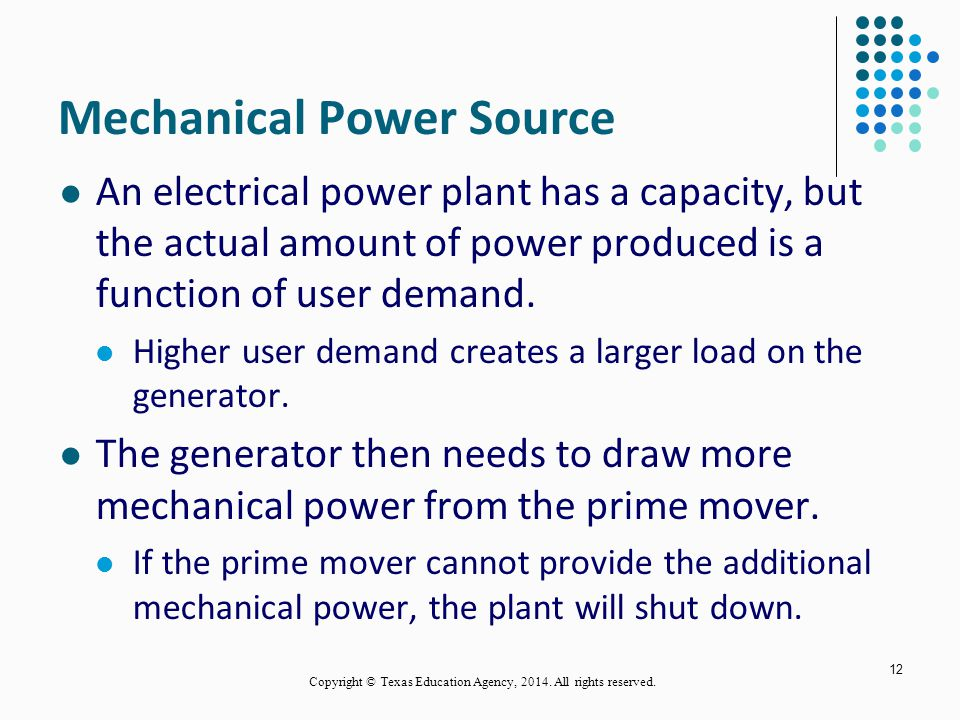 Mechanical Power Source