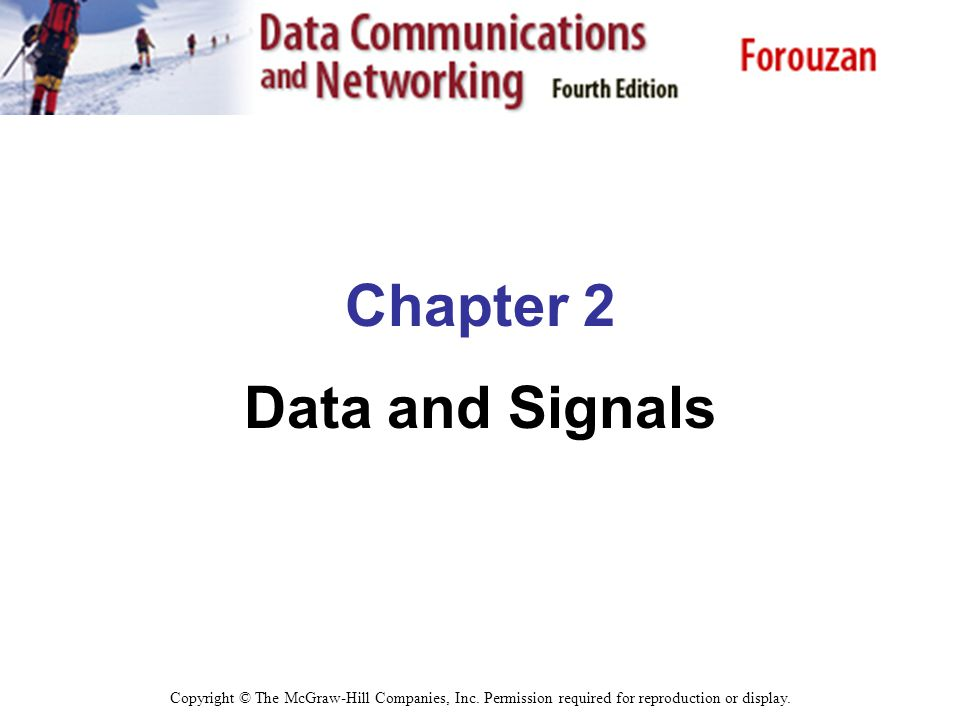 Chapter 2 Data and Signals