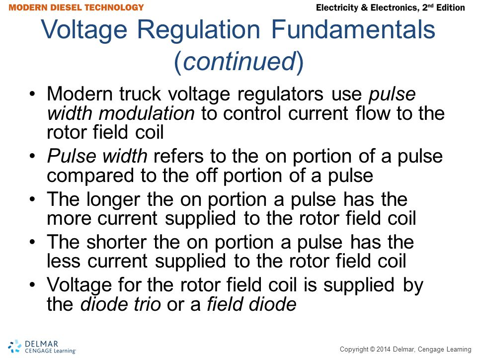 Voltage Regulation Fundamentals (continued)