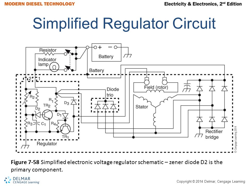 Simplified Regulator Circuit