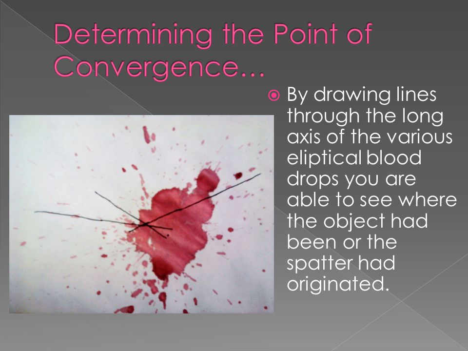 Determining the Point of Convergence…