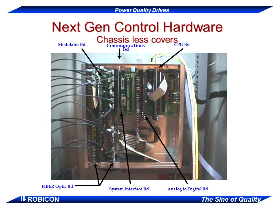 Next Gen Control Hardware Chassis less covers