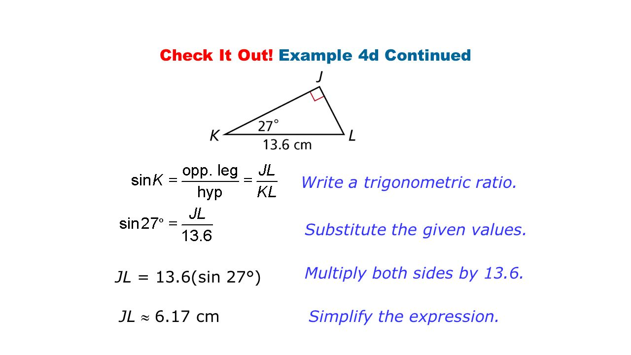 Check It Out! Example 4d Continued