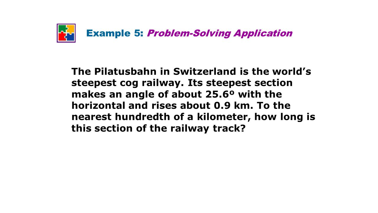 Example 5: Problem-Solving Application