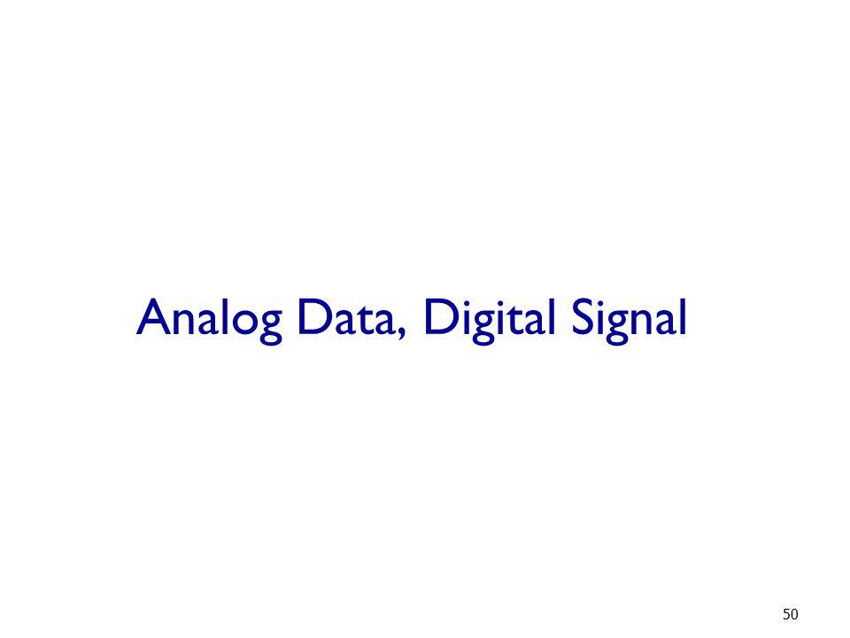 Analog Data, Digital Signal