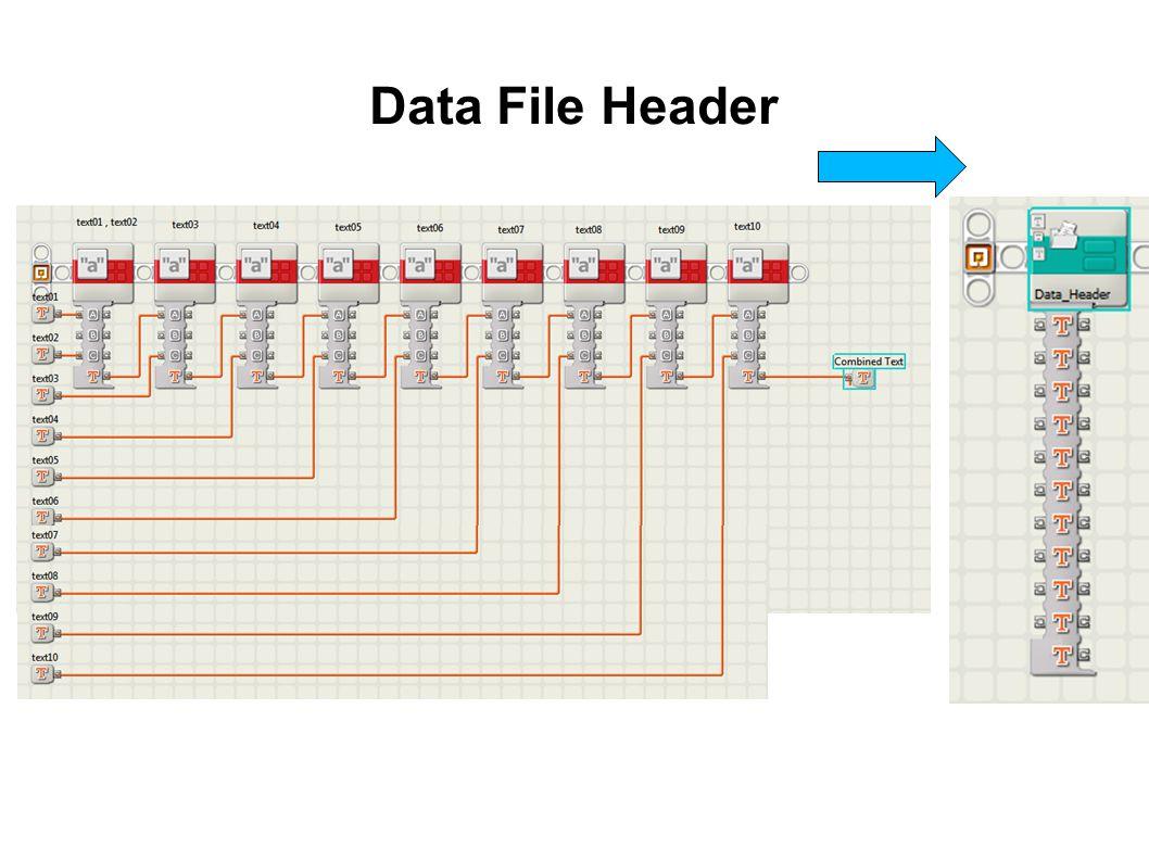 Data File Header
