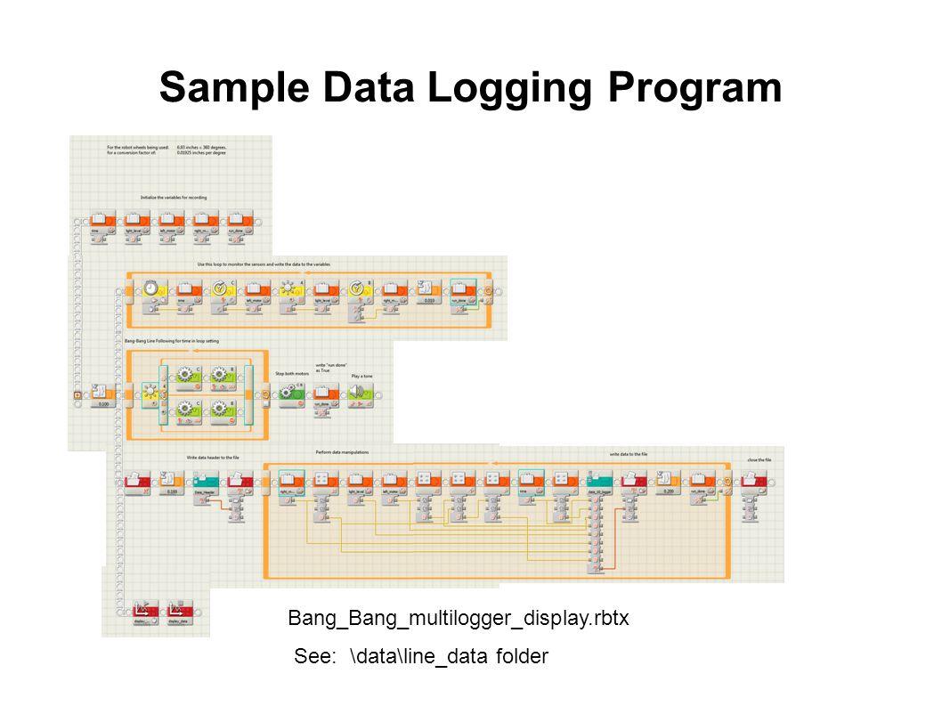 Sample Data Logging Program