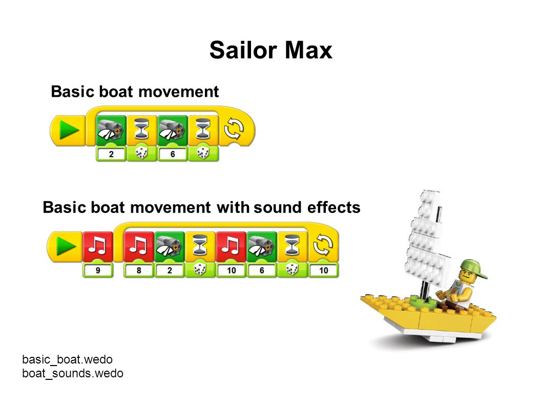 Sailor Max Basic boat movement Basic boat movement with sound effects