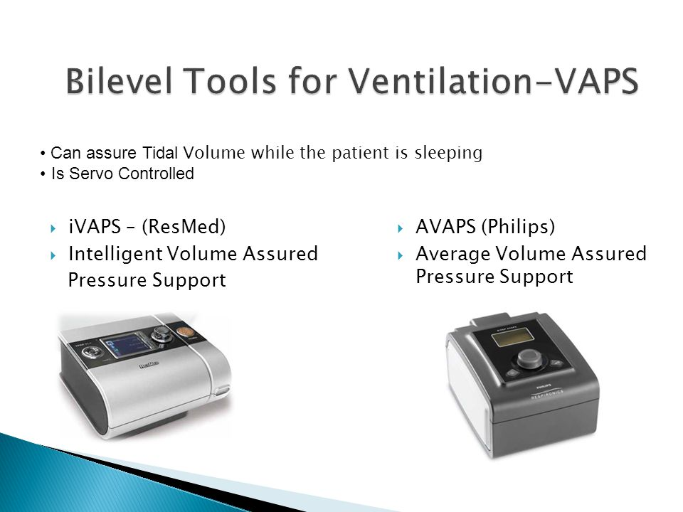 Bilevel Tools for Ventilation-VAPS