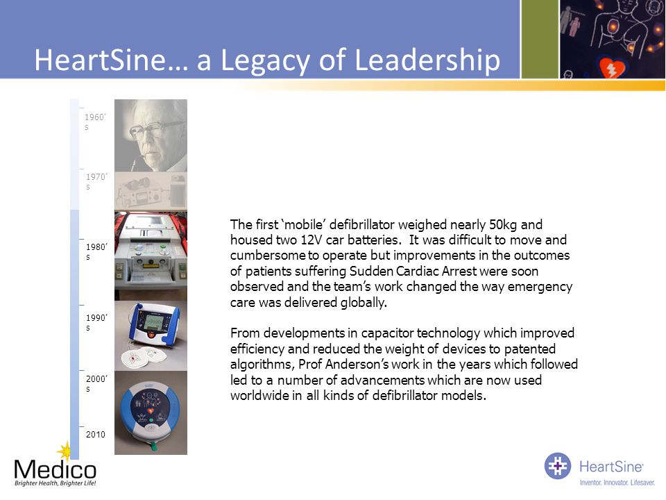 HeartSine… a Legacy of Leadership
