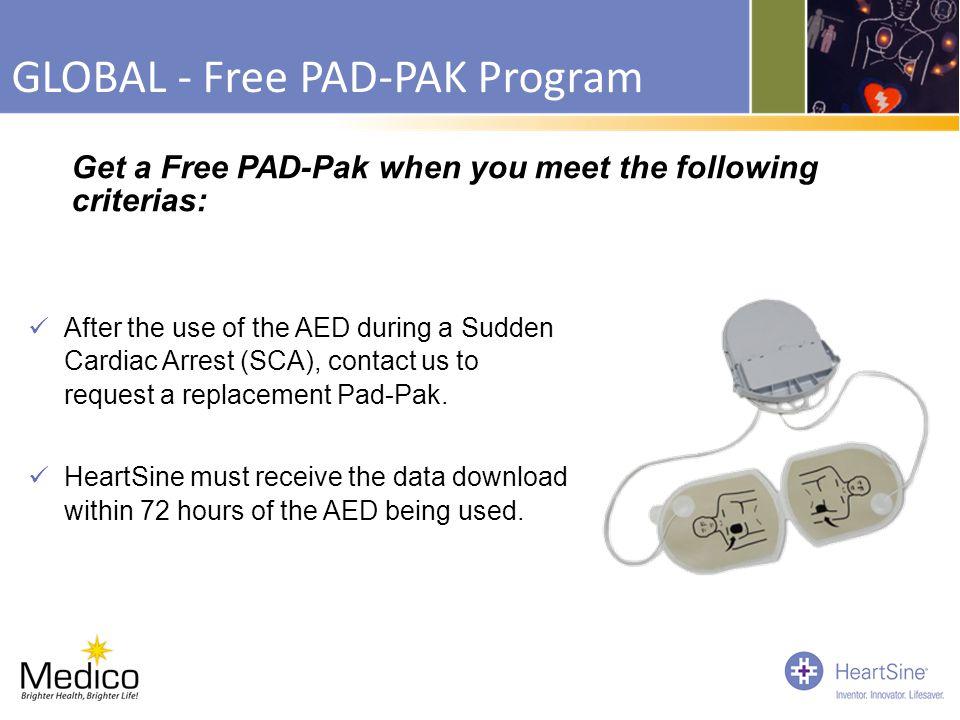 GLOBAL - Free PAD-PAK Program