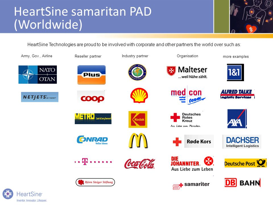 HeartSine samaritan PAD (Worldwide)