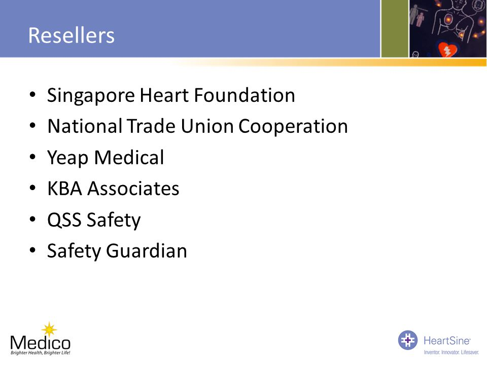 Resellers Singapore Heart Foundation National Trade Union Cooperation