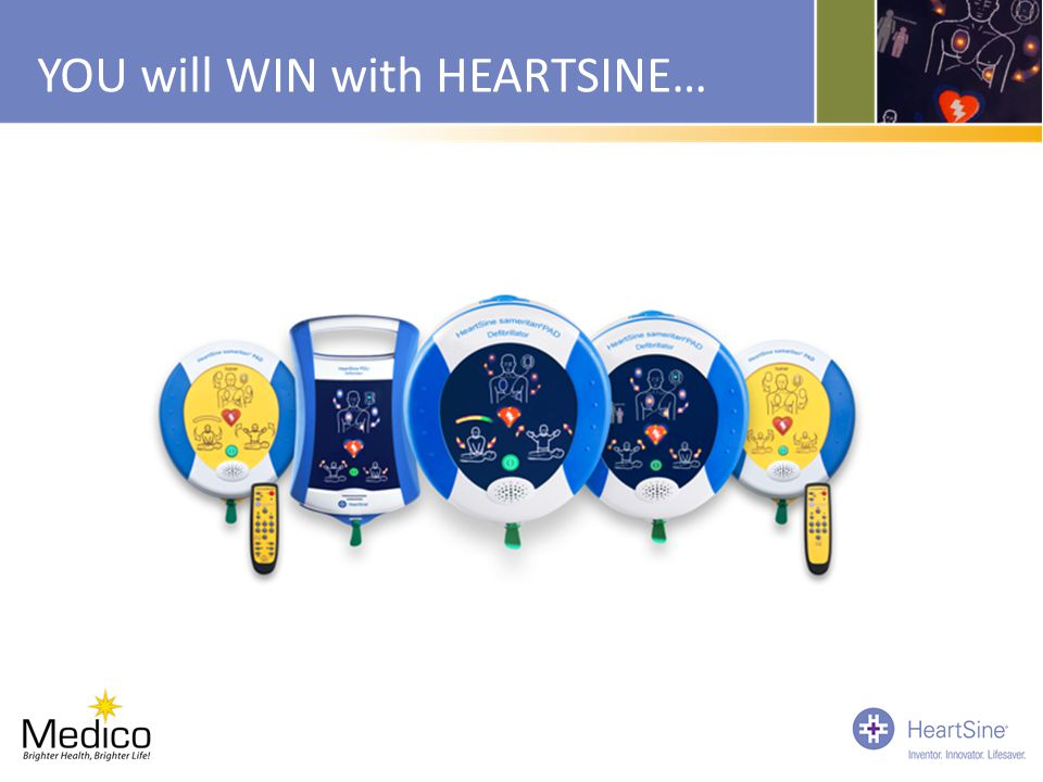 YOU will WIN with HEARTSINE…