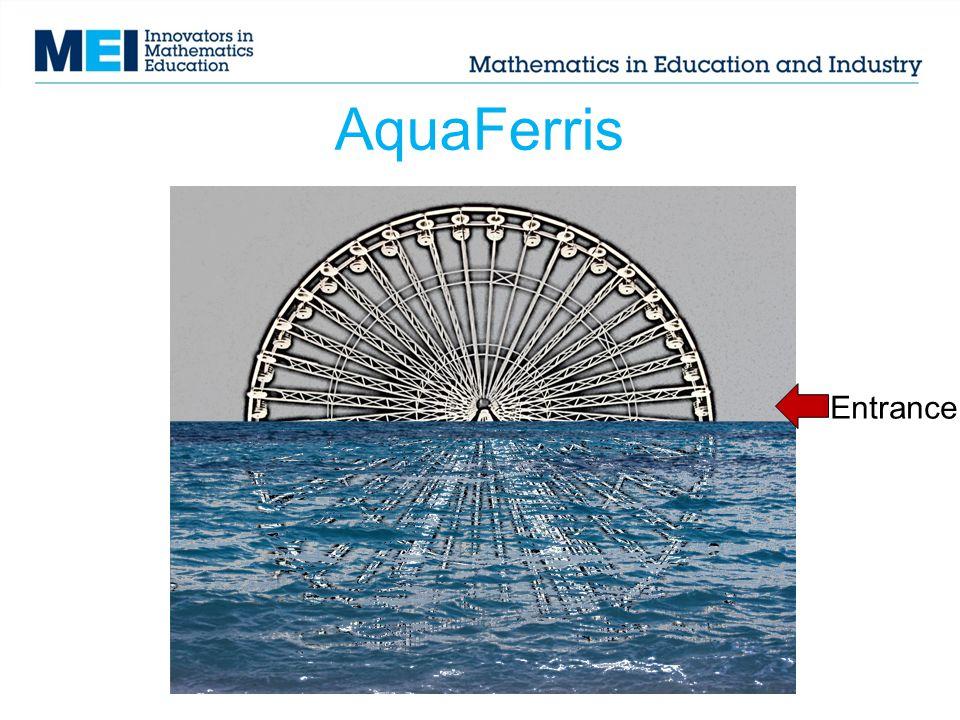 AquaFerris Entrance