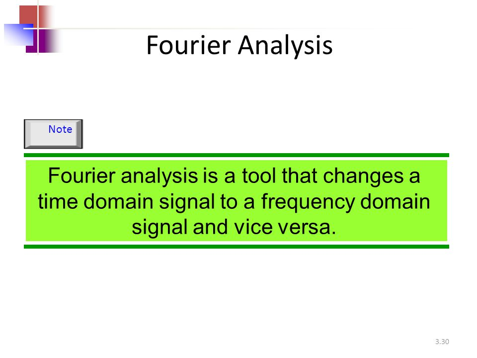Fourier Analysis Note.