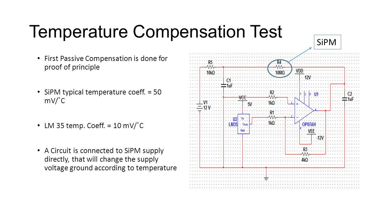 Temperature Compensation Test