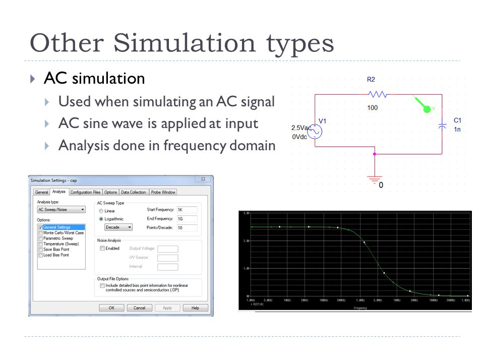Other Simulation types