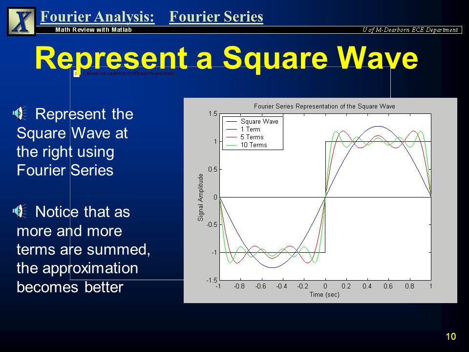 Represent a Square Wave