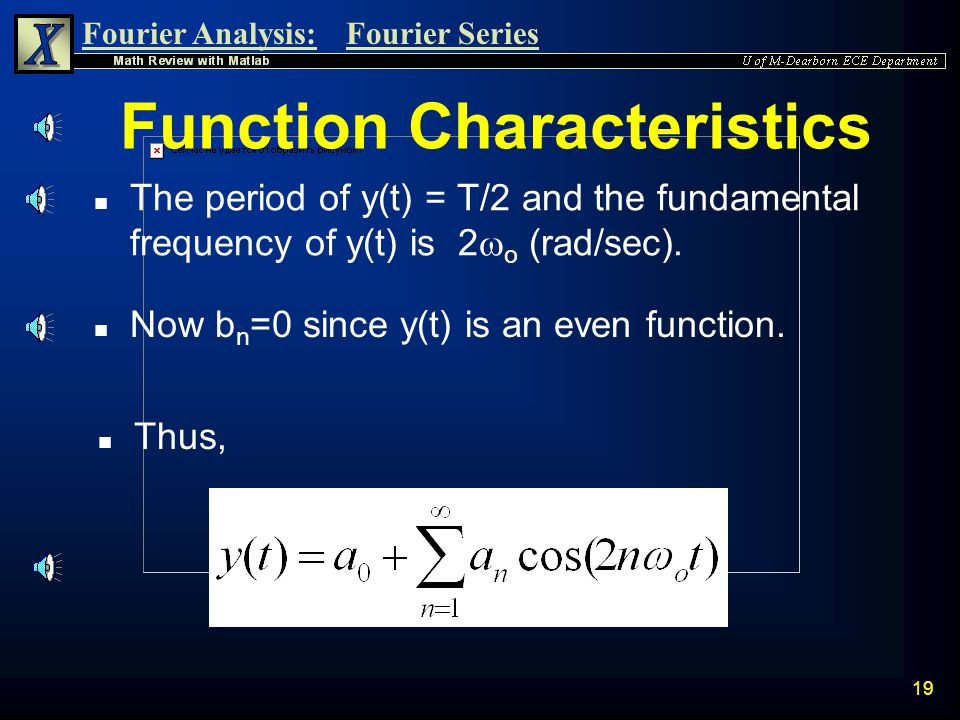 Function Characteristics